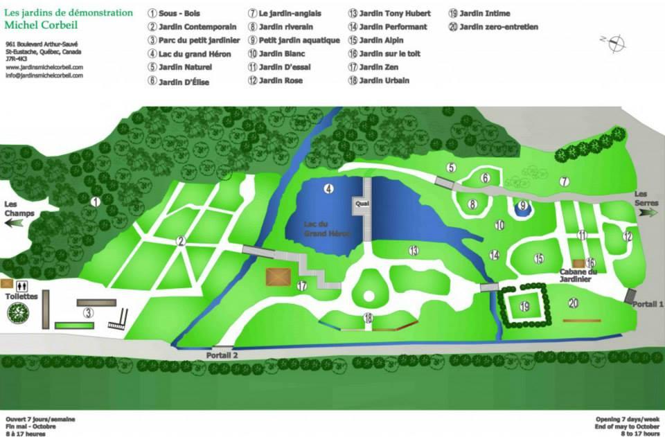 Nos jardins – Jardins Michel Corbeil