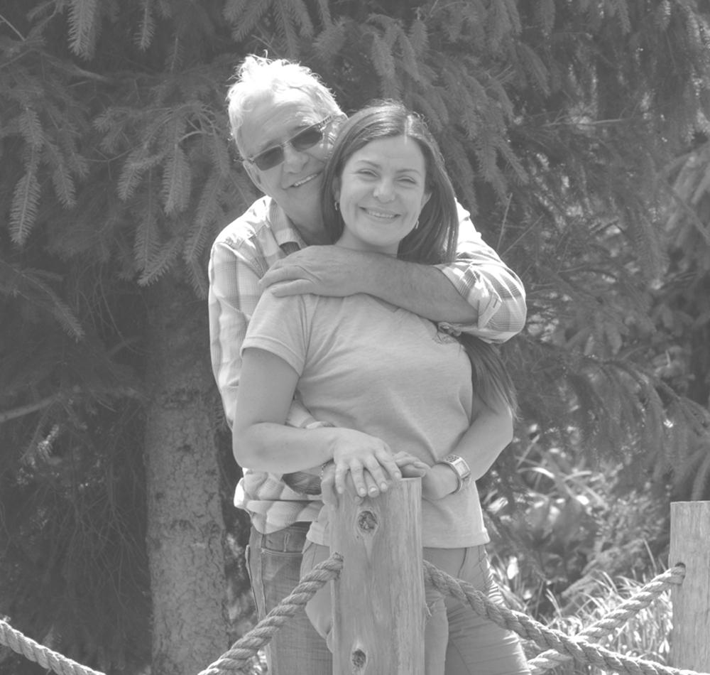 Michel et son épouse