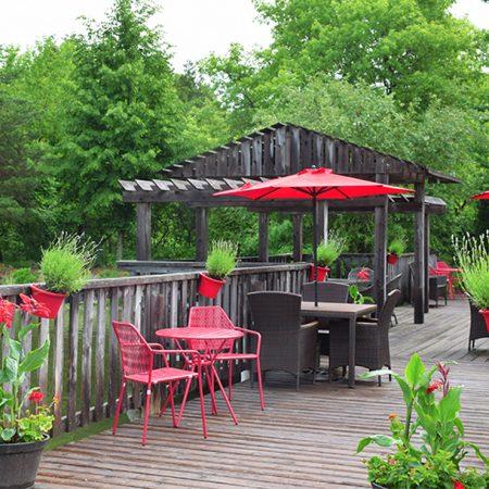 Terrasse Jardins